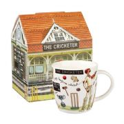 Churchill At Your Leisure The Cricketer Mug in Hatbox